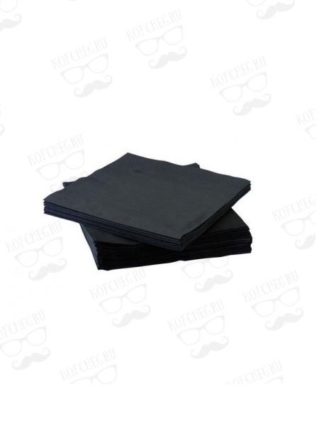 Салфетки (бумажные) черные 100 шт.