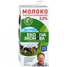 """Молоко """"Эконива 3,2% 1л"""