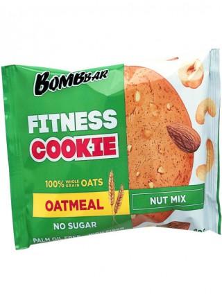 Печенье BOMBBAR неглазированное овсяное Ореховый микс (40г)