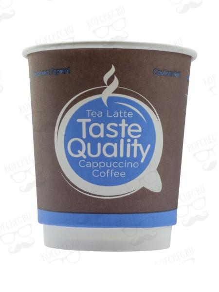 Стакан бумажный двухслойный Taste Quality 250 мл