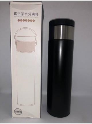 Термос металлический с датчиком температуры, 420 мл