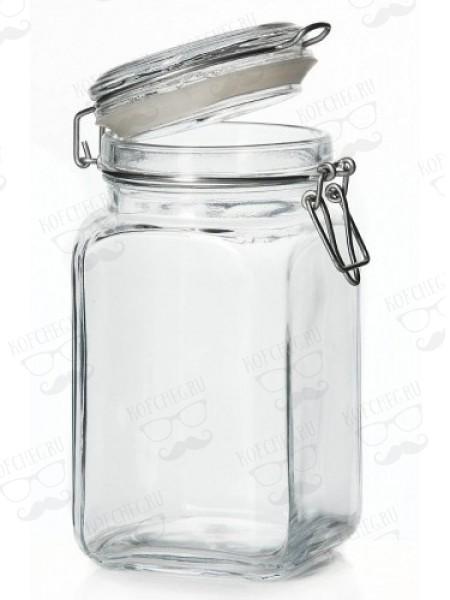 Банка (стекло) для сыпучих продуктов 1350мл