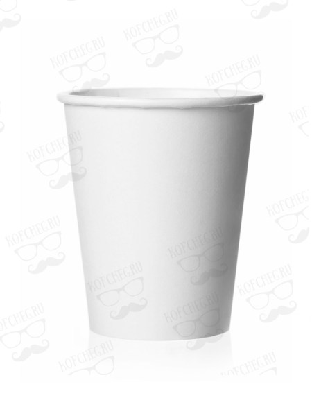 Стакан бумажный одноразовый белый 180 мл