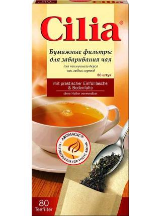 Фильтры для чая Cilia, 80 шт.