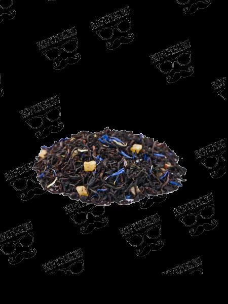Чай Пирог с черникой на основе черного