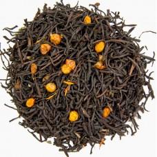 С облепихой Чай на основе черного