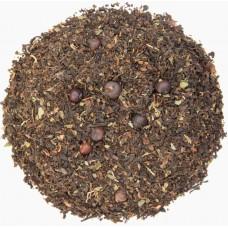 Таежный Крупнолистовой Чай на основе черного и пуэра