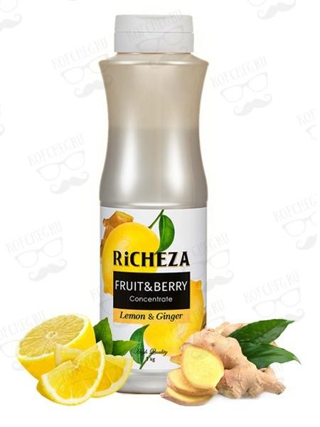 Концентрат Лимон-Имбирь Richeza 1кг.