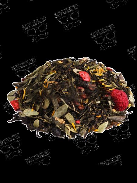 Карельский сбор Купаж черного и зеленого чая