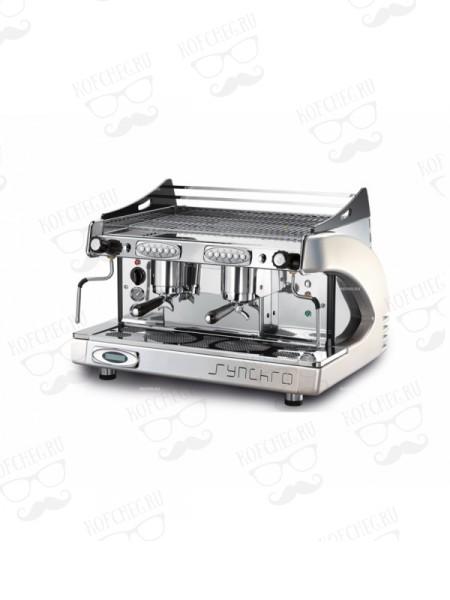 Профессиональная кофемашина Royal Synchro P6 2GR-A 14LT