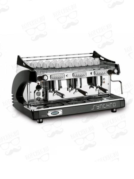 Профессиональная кофемашина Royal Synchro P6 3GR-A 21LT