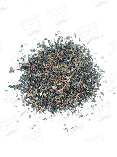 Земляника со сливками Чай на основе черного