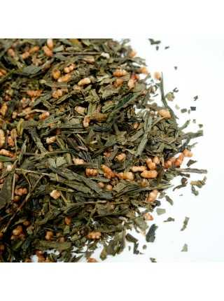 Зеленый Японский чай с рисом Генмайча