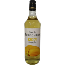 Сироп Кедди-Монин Keddy Желтый банан стекло (1л)